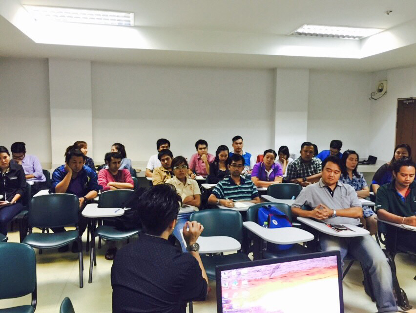"Gave a special lecture on ""Social Media Marketing & SEO Secrets"" for master's degree students, Ramkhamhaeng University"