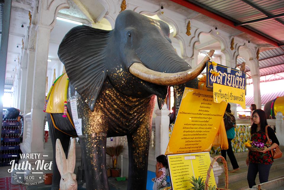 รูปปั้นช้างพลายเงิน