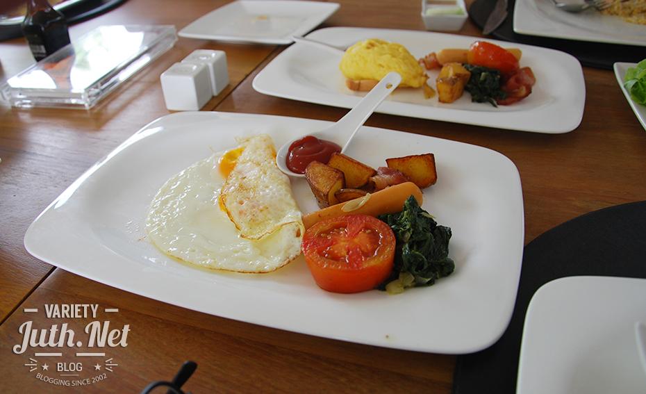อาหารเช้าเซต European Breakfast