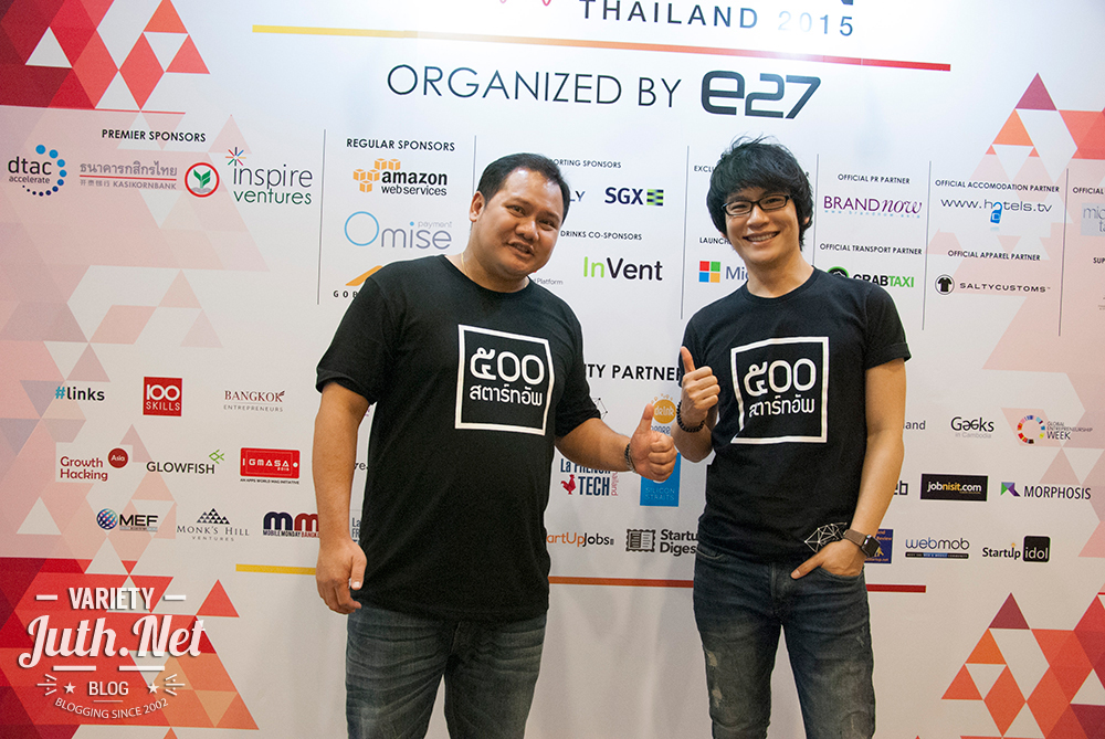 500 TukTuks is นำโดย Poonpol, who is also the Founder of Disrupt University and Moo Natavudh, the CEO of Ookbee.