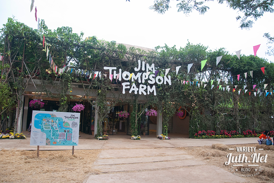 ด้านหน้าของ Jim Thompson Farm