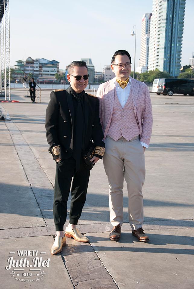 ตือ-สมบัษร ถิระสาโรช ออแกไนเซอร์มือทอง และฟอร์ด-กุลวิทย์ เลาสุขศรี บก. VOUGE Thailand