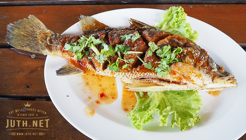 ปลากะพง 3 รส
