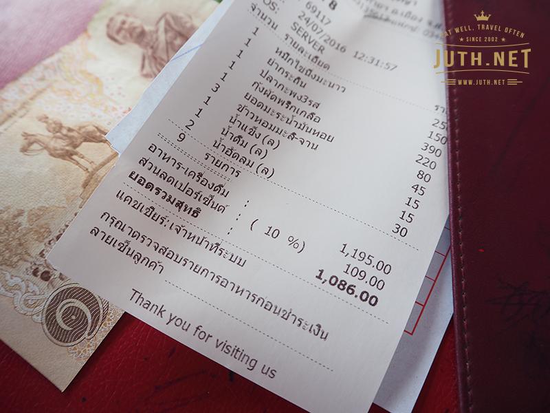 ค่าอาหารทั้งหมด