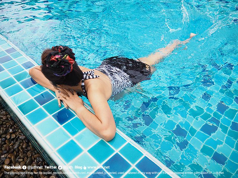 ว่ายน้ำสบายๆ