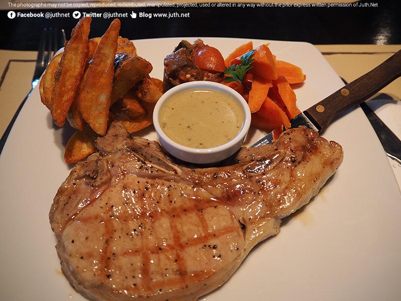 Grilled Pork Chop พอร์คชอป